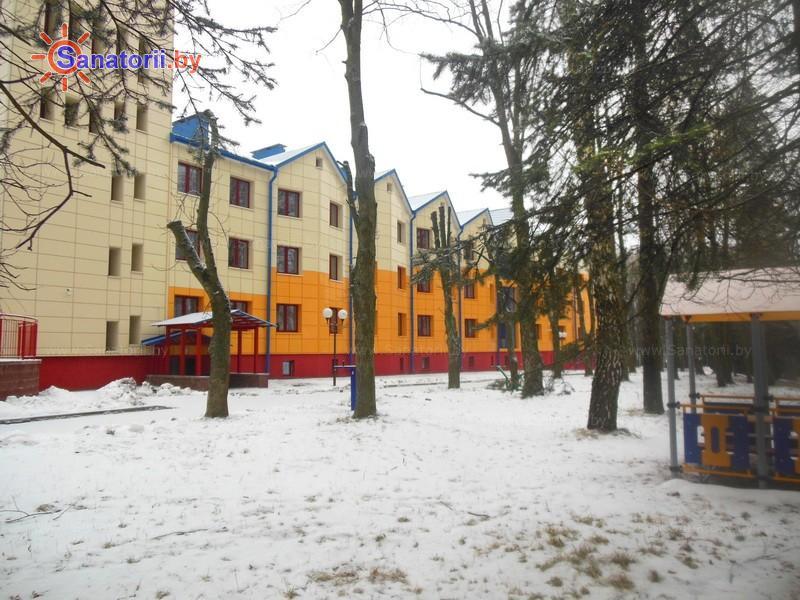 Санатории Белоруссии Беларуси - ДРОЦ Ждановичи - спальный корпус №1
