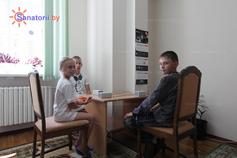 Санатории Белоруссии Беларуси - ДРОЦ Жемчужина - Аэроионотерапия