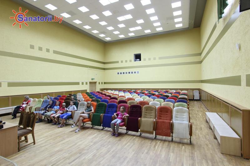 Санатории Белоруссии Беларуси - ДРОЦ Жемчужина - Кинозал