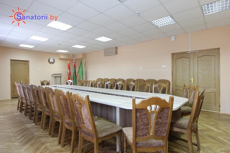 Санатории Белоруссии Беларуси - ДРОЦ Жемчужина - Конференц-зал