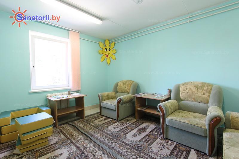 Санатории Белоруссии Беларуси - ДРОЦ Жемчужина - Детская комната