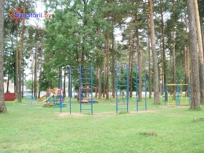 Санатории Белоруссии Беларуси - ДРОЦ Жемчужина - Детская площадка