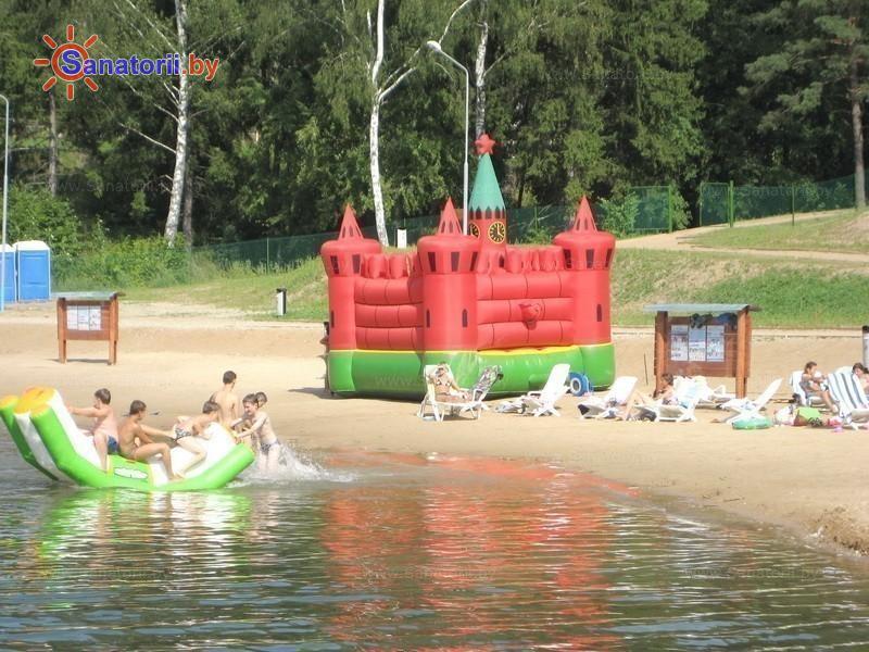 Санатории Белоруссии Беларуси - ДРОЦ Жемчужина - Пляж