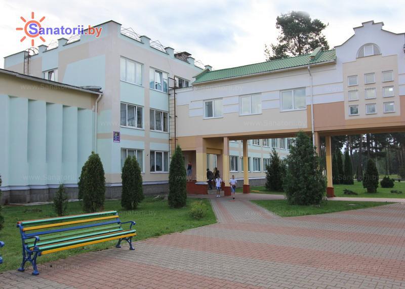 Санатории Белоруссии Беларуси - ДРОЦ Жемчужина - школьный корпус
