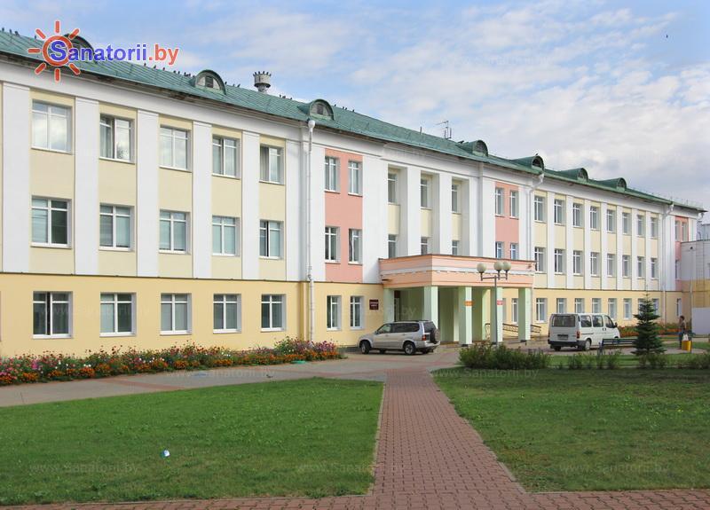 Санатории Белоруссии Беларуси - ДРОЦ Жемчужина - лечебный корпус