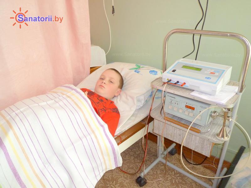 Санатории Белоруссии Беларуси - ДРОЦ Пралеска - Квч-терапия