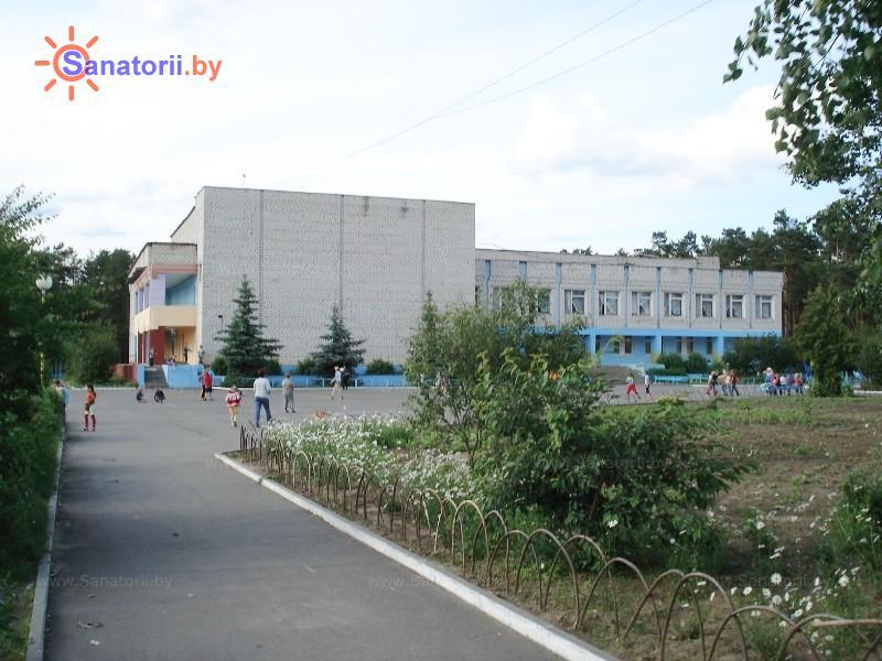 Санатории Белоруссии Беларуси - ДРОЦ Пралеска - столовая-клуб