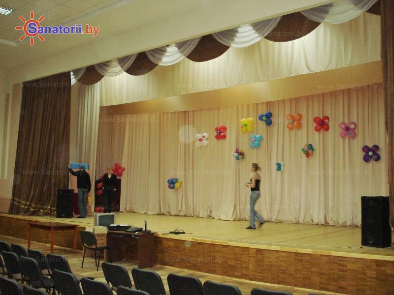 Санатории Белоруссии Беларуси - ДРОЦ Пралеска - Кинозал