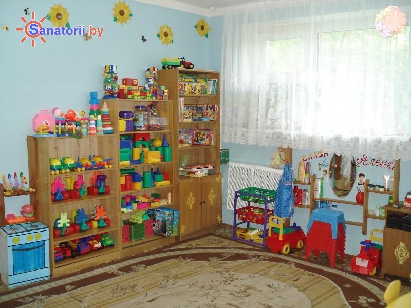 Санатории Белоруссии Беларуси - ДРОЦ Пралеска - Детская комната