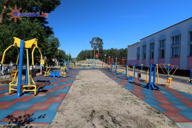 Санатории Белоруссии Беларуси - ДРОЦ Пралеска - Детская площадка