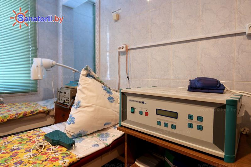 Санатории Белоруссии Беларуси - ДРОЦ Пралеска - Магнитотерапия