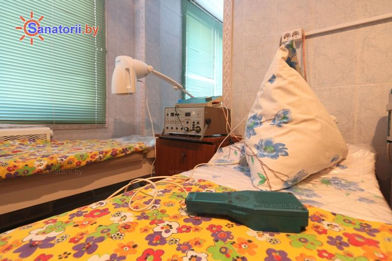 Санатории Белоруссии Беларуси - ДРОЦ Пралеска - Лазерная терапия