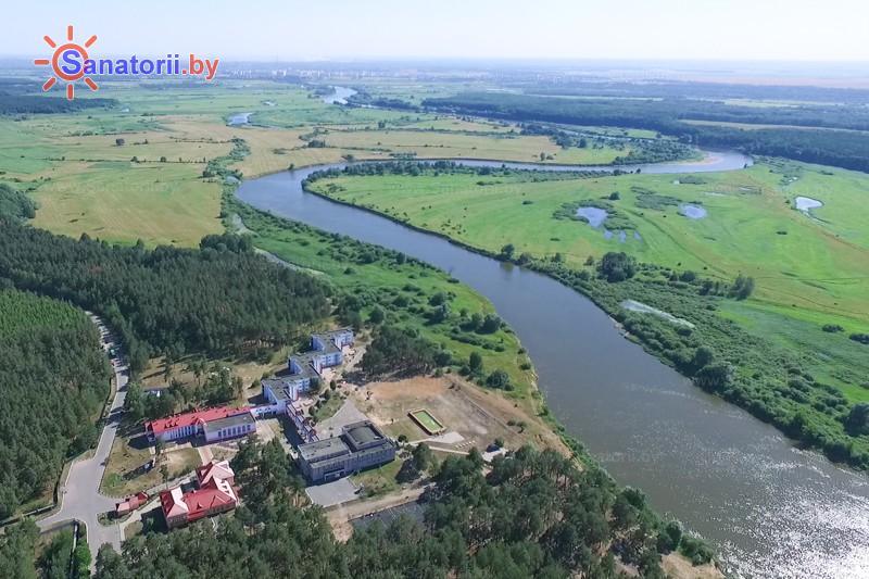 Санатории Белоруссии Беларуси - ДРОЦ Пралеска - Водоём