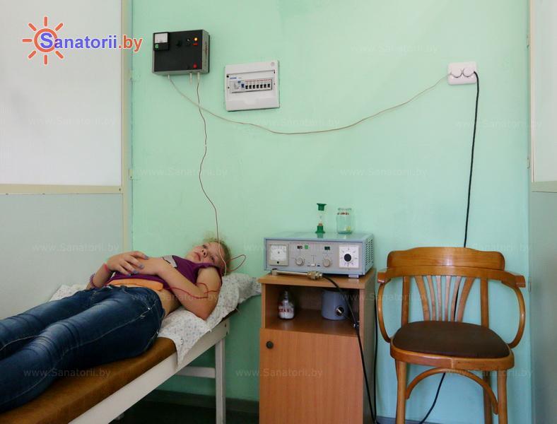 Санатории Белоруссии Беларуси - детский санаторий Случь - Электрогрязелечение (гальваногрязелечение)