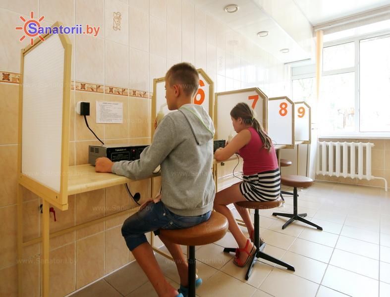 Санатории Белоруссии Беларуси - детский санаторий Случь - Ингаляции (аэрозольтерапия)