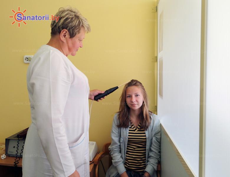 Санатории Белоруссии Беларуси - детский санаторий Случь - Электролечение