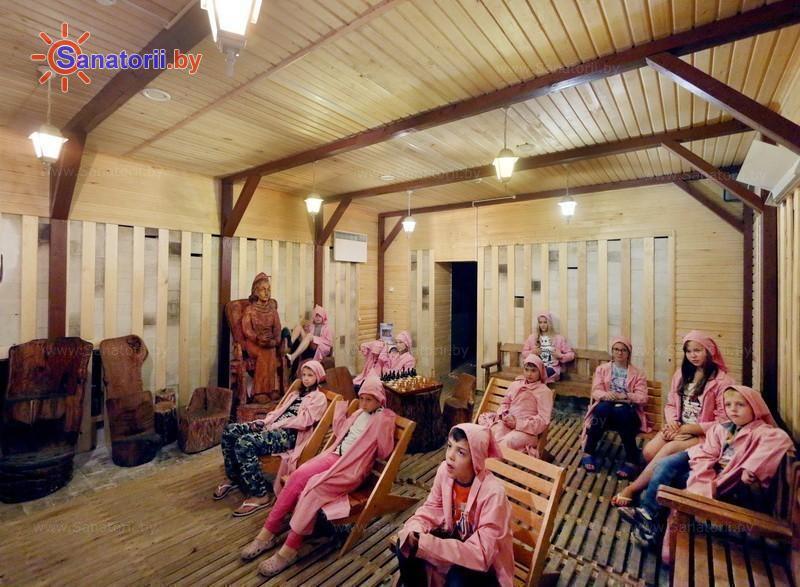 Санатории Белоруссии Беларуси - детский санаторий Случь - Спелеотерапия