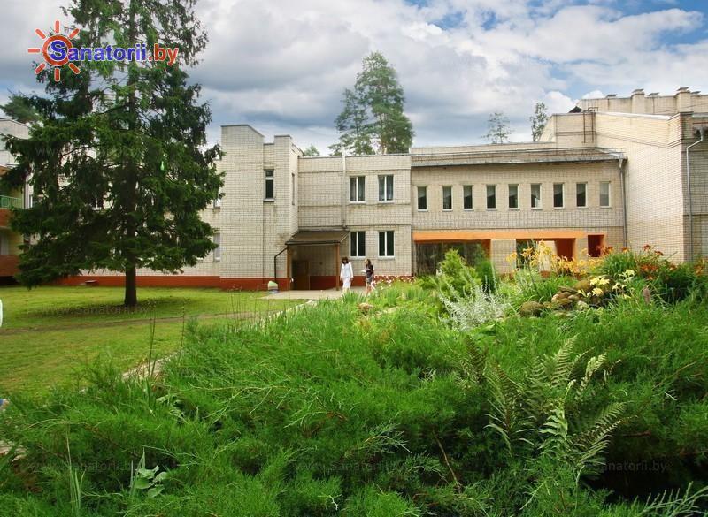 Санатории Белоруссии Беларуси - детский санаторий Солнышко - школьный корпус
