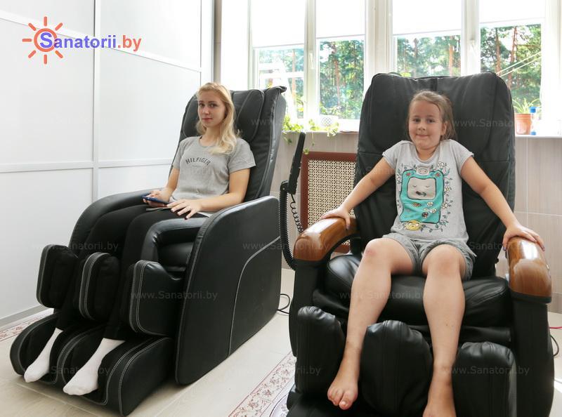 Санатории Белоруссии Беларуси - детский санаторий Солнышко - Массаж аппаратный
