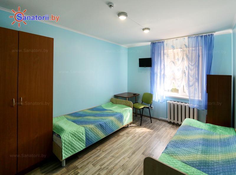 Санатории Белоруссии Беларуси - детский санаторий Солнышко - двухместный однокомнатный (коттедж №4)