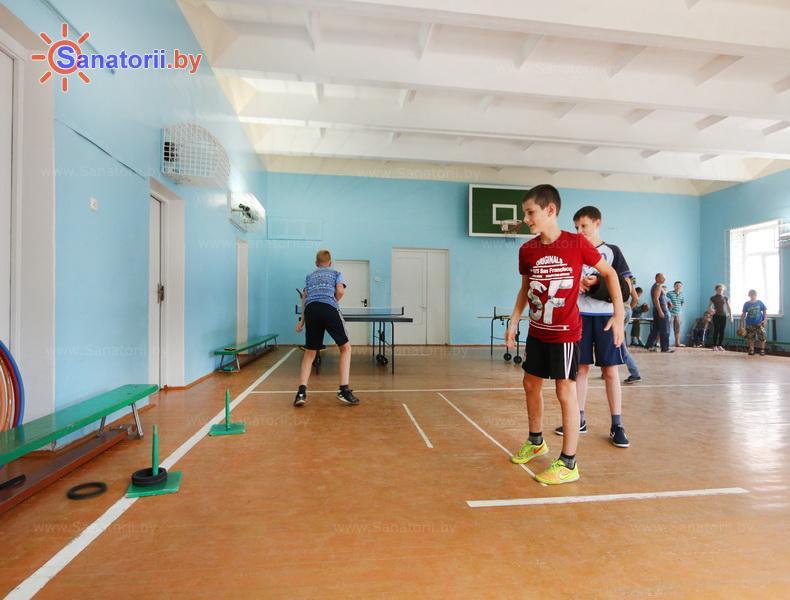 Санатории Белоруссии Беларуси - детский санаторий Солнышко - Спортзал