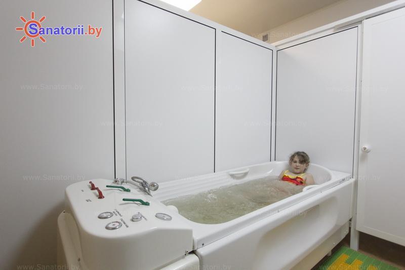 Санатории Белоруссии Беларуси - детский санаторий Росинка - Ванны общие
