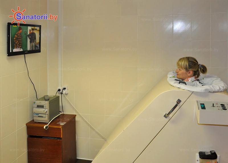 Санатории Белоруссии Беларуси - детский санаторий Росинка - Ванна сухая углекислая