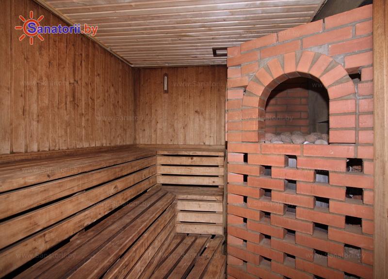 Санатории Белоруссии Беларуси - детский санаторий Росинка - Баня русская