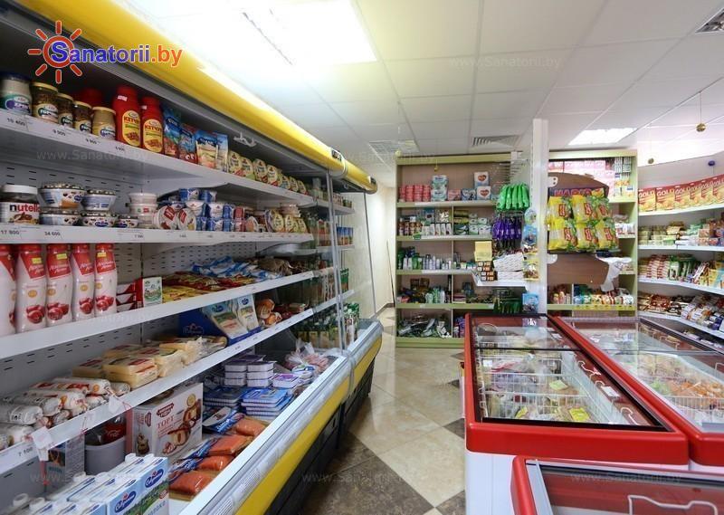 Санатории Белоруссии Беларуси - детский санаторий Росинка - Магазин