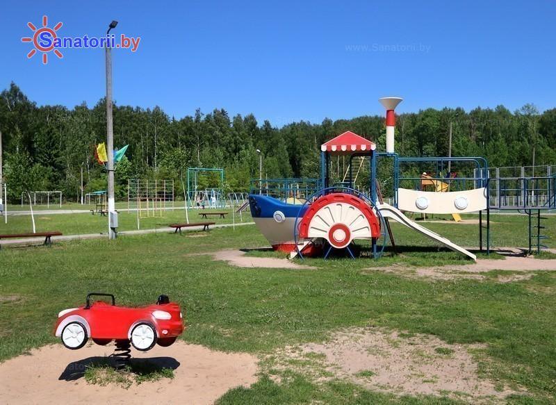 Санатории Белоруссии Беларуси - детский санаторий Росинка - Детская площадка