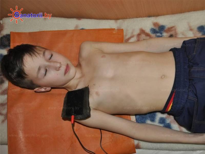 Санатории Белоруссии Беларуси - детский санаторий Росинка - Грязелечение (пелоидотерапия)