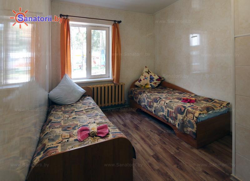 Санатории Белоруссии Беларуси - детский санаторий Налибокская пуща - двухместный однокомнатный (спальные корпуса)