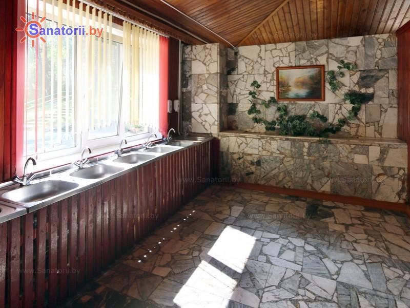 Санатории Белоруссии Беларуси - детский санаторий Налибокская пуща - Столовая