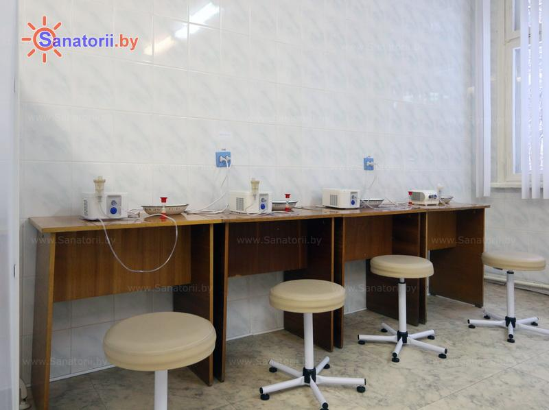 Санатории Белоруссии Беларуси - санаторий Неман-72 - Ингаляции (аэрозольтерапия)