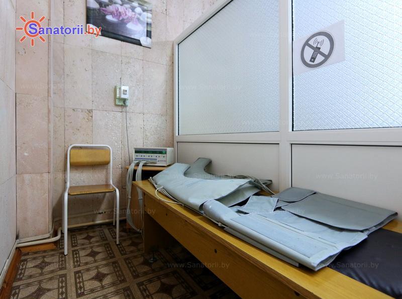 Санатории Белоруссии Беларуси - санаторий Неман-72 - Компрессионная терапия