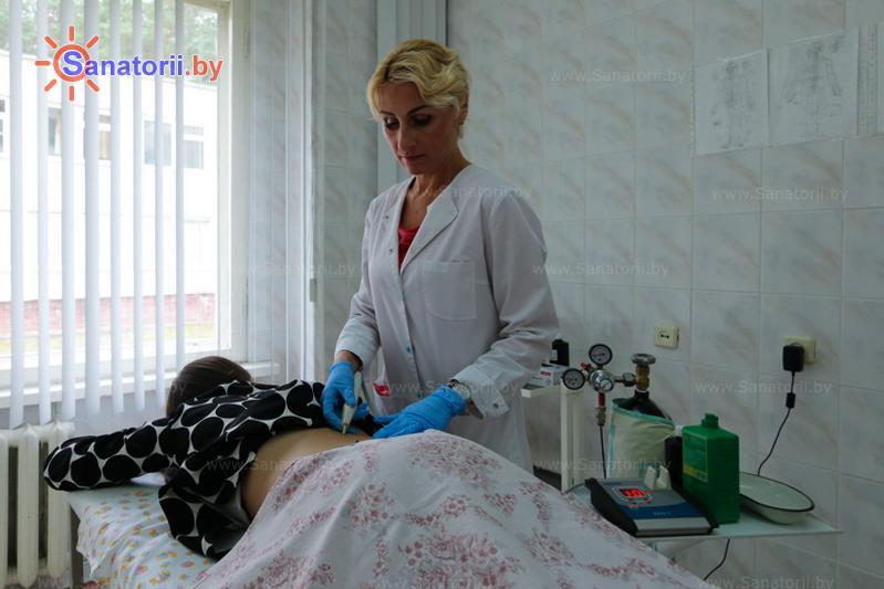 Санатории Белоруссии Беларуси - санаторий Неман-72 - Карбокситерапия (газовые уколы)