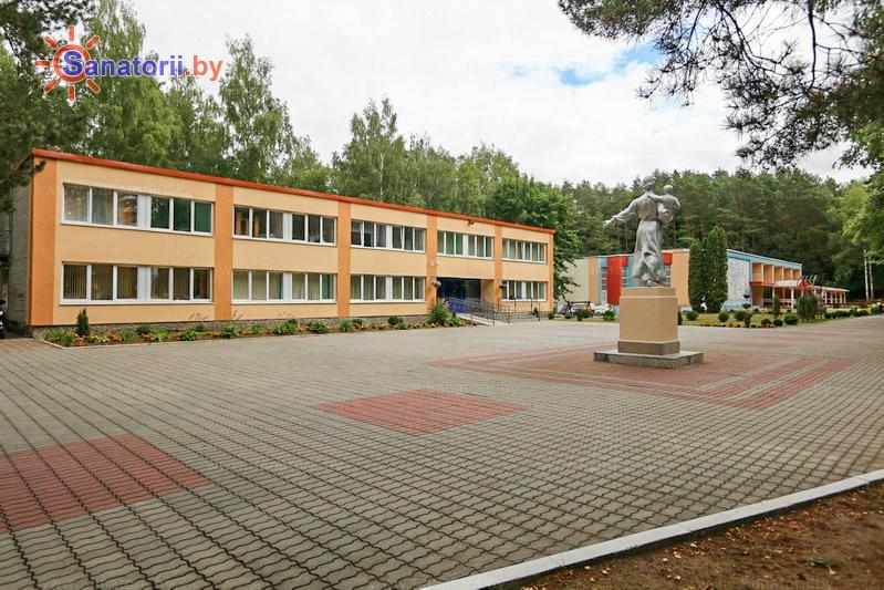 Санатории Белоруссии Беларуси - санаторий Неман-72 - Территория и природа
