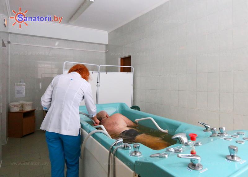 Санатории Белоруссии Беларуси - санаторий Неман-72 - Душ-массаж подводный