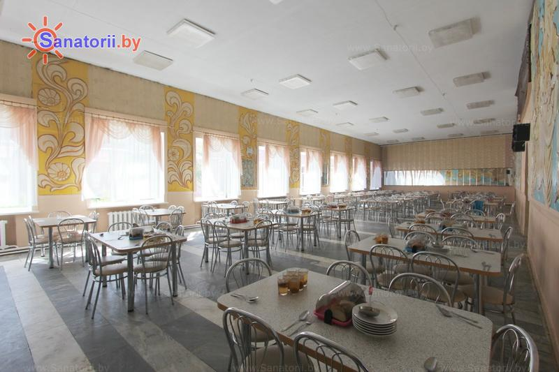 Санатории Белоруссии Беларуси - детский санаторий Свислочь - Столовая