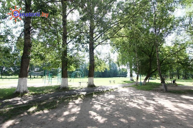 Санатории Белоруссии Беларуси - детский санаторий Свислочь - Территория и природа
