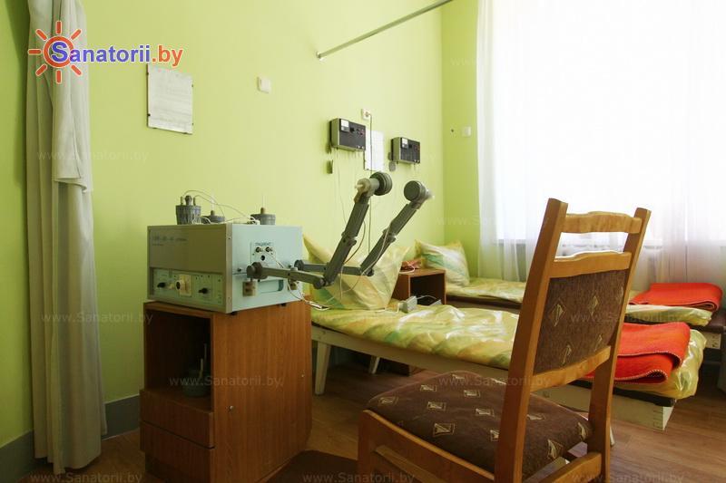 Санатории Белоруссии Беларуси - детский санаторий Свислочь - Увч-терапия