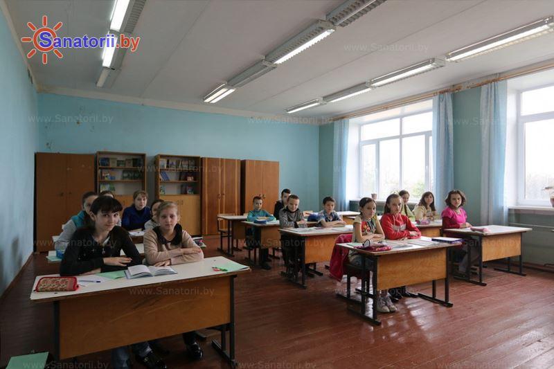 Санатории Белоруссии Беларуси - детский санаторий Свислочь - Школа
