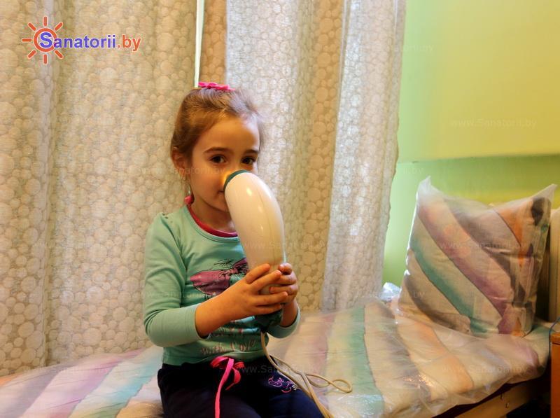 Санатории Белоруссии Беларуси - детский санаторий Свислочь - Светолечение