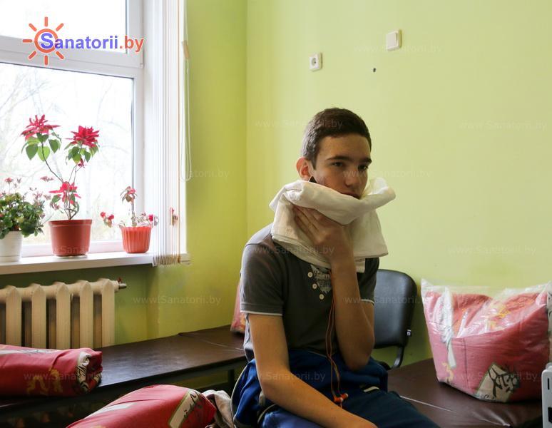 Санатории Белоруссии Беларуси - детский санаторий Свислочь - Озокерито-парафинолечение