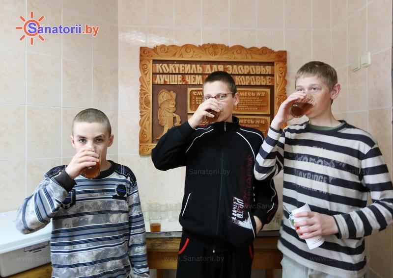 Санатории Белоруссии Беларуси - детский санаторий Свислочь - Фитотерапия