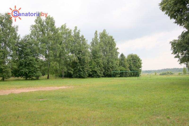 Санатории Белоруссии Беларуси - детский санаторий Свислочь - Спортплощадка
