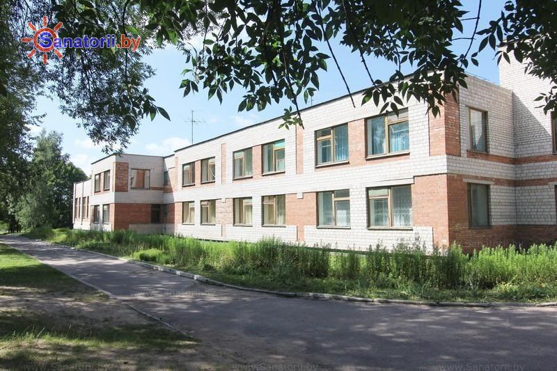 Санатории Белоруссии Беларуси - детский санаторий Свислочь - спальный корпус №2