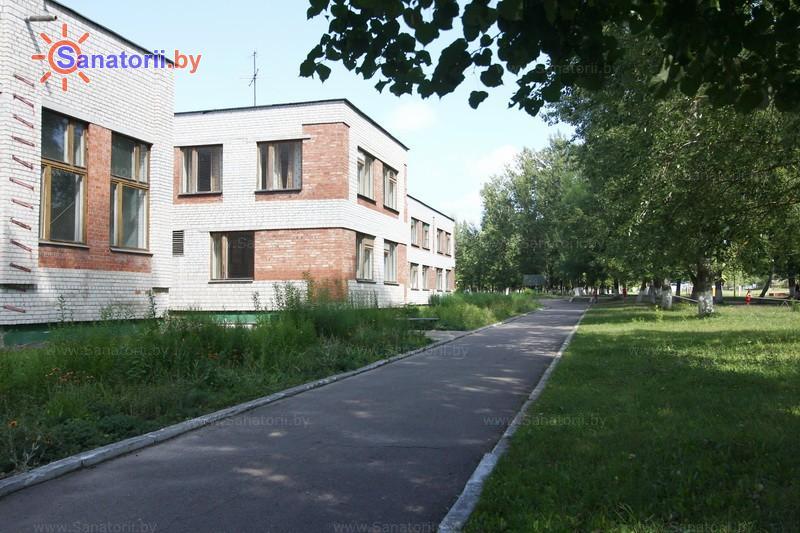 Санатории Белоруссии Беларуси - детский санаторий Свислочь - лечебный корпус