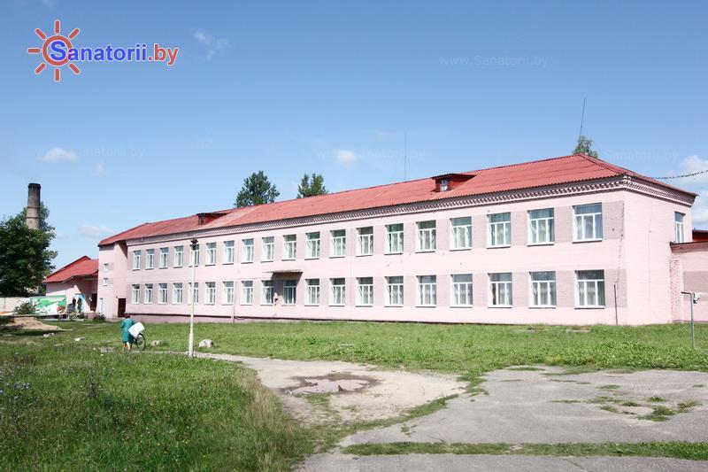 Санатории Белоруссии Беларуси - детский санаторий Свислочь - школьный корпус