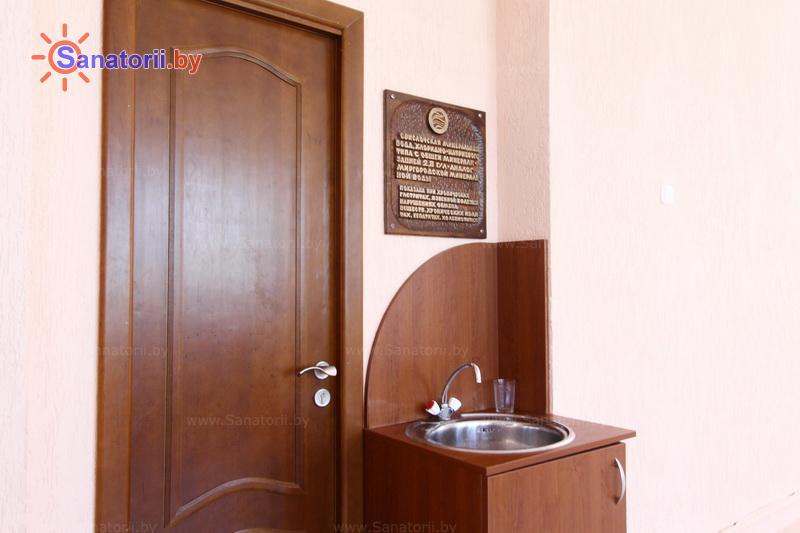 Санатории Белоруссии Беларуси - детский санаторий Свислочь - Бювет минеральной воды